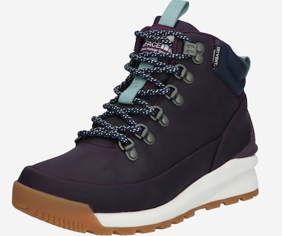 THE NORTH FACE Boots 'W BACK-TO-BERKELEY MID WP' en bleu marine / bleu clair / prune, Vue avec produit
