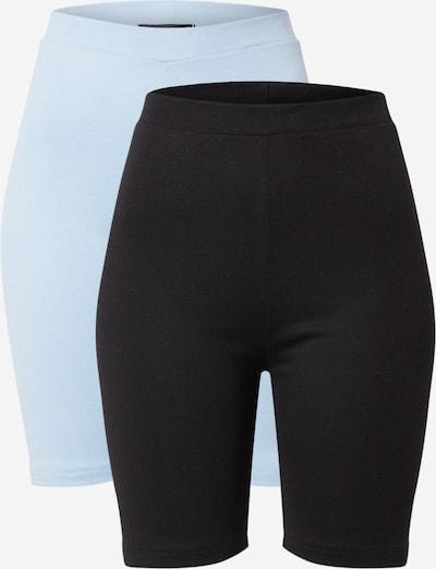 Missguided Športne hlače | svetlo modra / črna barva, Prikaz izdelka