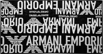 Serviette Emporio Armani en noir
