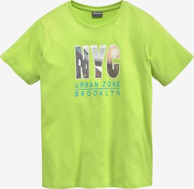 Kidsworld T-Shirt in limette, Produktansicht