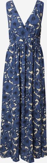 Traffic People Kleid 'Shadow' in royalblau / schwarz / naturweiß, Produktansicht