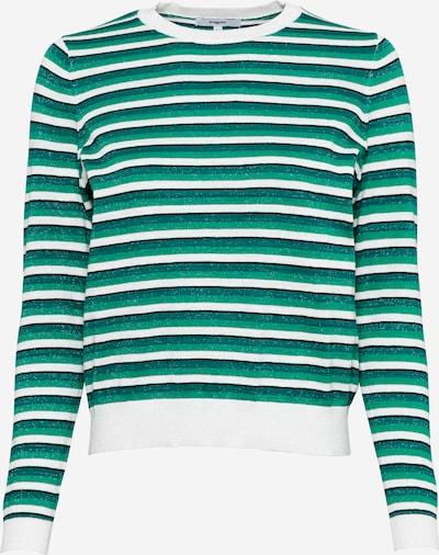 Suncoo Pullover 'PORTLAND' in grün / dunkelgrün / weiß, Produktansicht