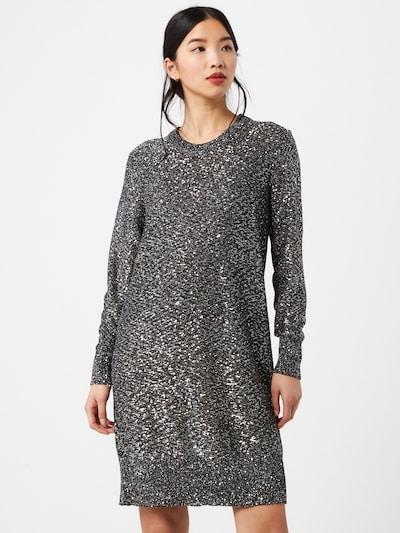 MICHAEL Michael Kors Kleid 'Sequin' in grau / silber, Modelansicht