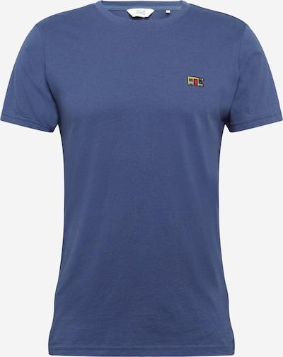 Tricou 'Mamo' !Solid pe navy / galben / roșu / negru, Vizualizare produs