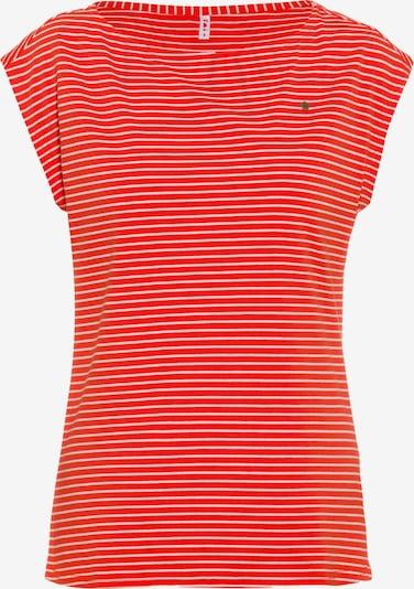 Maglietta Blutsgeschwister di colore rosso / bianco, Visualizzazione prodotti