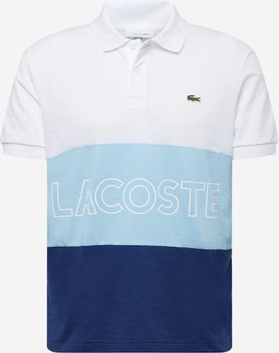 LACOSTE Polo in hellblau / dunkelblau / weiß, Produktansicht