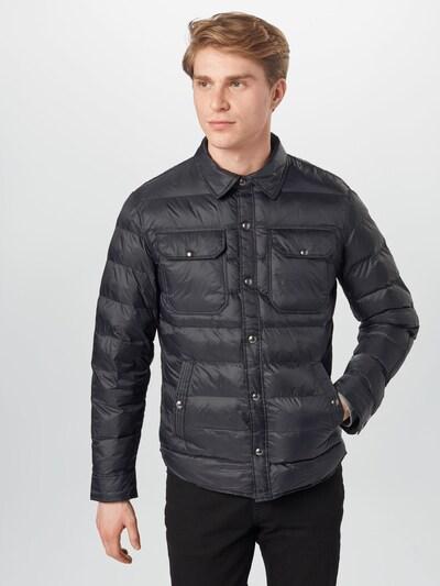POLO RALPH LAUREN Prehodna jakna 'POLY' | črna barva, Prikaz modela