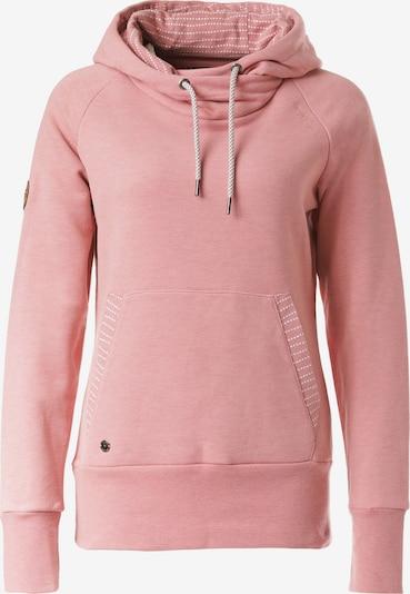 mazine Sweatshirt 'Kadina' in altrosa / weiß, Produktansicht