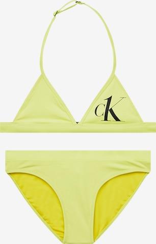 Calvin Klein Swimwear Bikini in Grün