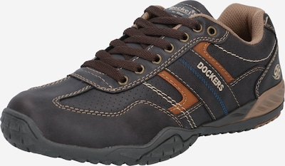 Dockers by Gerli Athletic lace-up shoe in blue / mixed colours, Item view