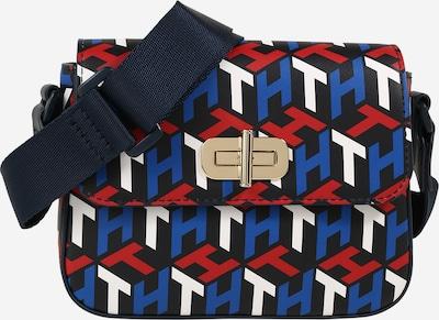 TOMMY HILFIGER Tasche in blau / nachtblau / rot / weiß, Produktansicht
