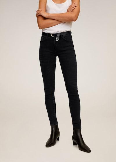 MANGO Džíny 'Kim' - černá džínovina, Model/ka
