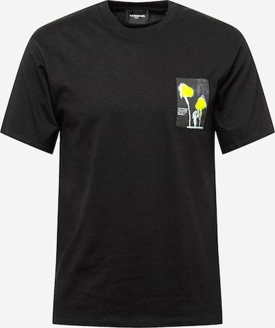 Tricou The Kooples pe galben / negru / alb, Vizualizare produs
