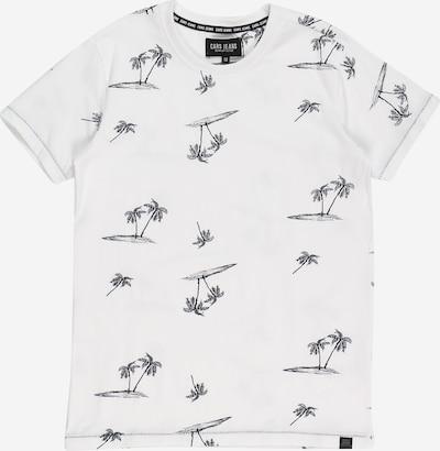 Cars Jeans Shirt 'Ruther' in de kleur Zwart / Wit, Productweergave