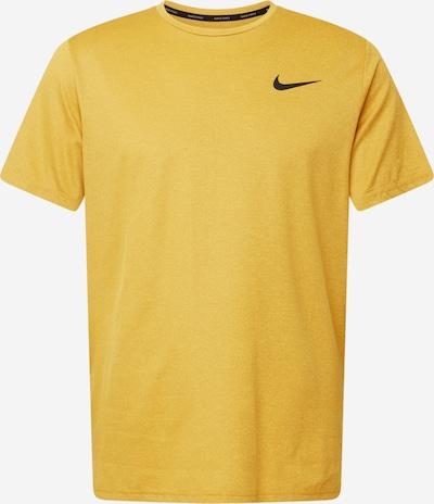 NIKE Funktionsshirt in gelb / schwarz, Produktansicht