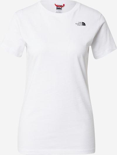 THE NORTH FACE T-Shirt in schwarz / weiß, Produktansicht