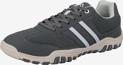 Freyling Sneaker in dunkelgrau / weiß, Produktansicht