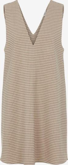 OBJECT Kleid 'Sigrid Mira' in hellbraun / dunkelbraun / weiß, Produktansicht