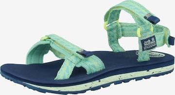 JACK WOLFSKIN Sandals 'Outfresh' in Green