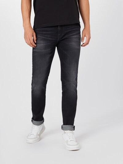 EDWIN Jeans 'ED-80' in de kleur Black denim: Vooraanzicht