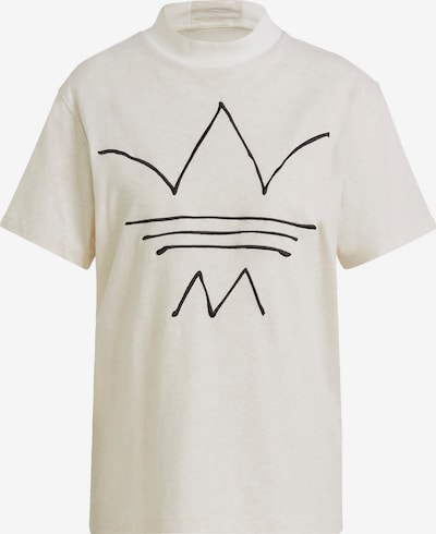 ADIDAS ORIGINALS Shirt in Black / Off white, Item view