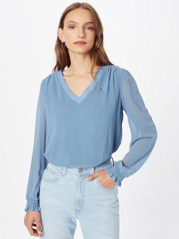 VILA Bluse 'AMIONE' in Blau