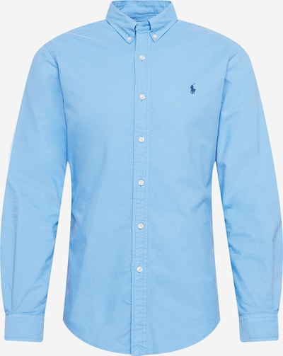 POLO RALPH LAUREN Shirt in Light blue: Frontal view