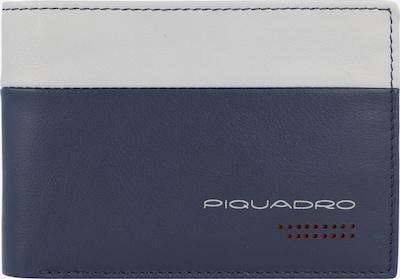 Piquadro Geldbörse in blau / hellgrau: Frontalansicht