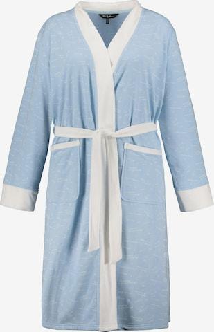 Ulla Popken Pikk hommikumantel, värv sinine