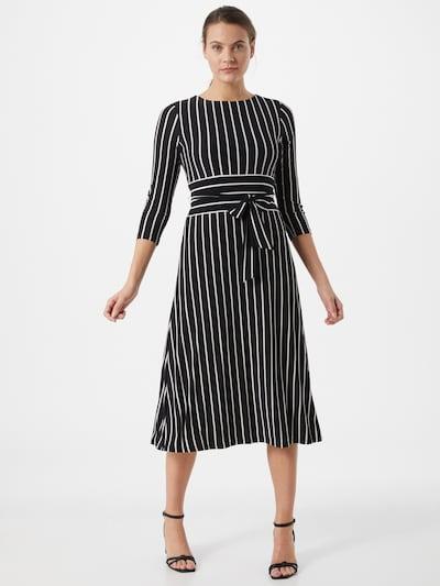 Lauren Ralph Lauren Kleid 'KRISTIE' in schwarz / weiß, Modelansicht
