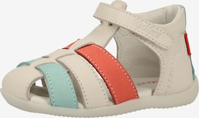 KICKERS Sandalen in mint / orange / weiß, Produktansicht