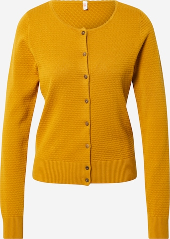 Blutsgeschwister Knit Cardigan 'Save The Brave' in Yellow