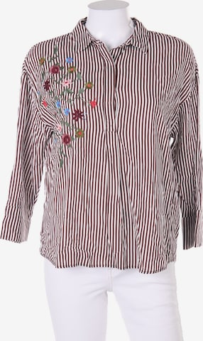Pull&Bear Tunika-Bluse in M in Rot