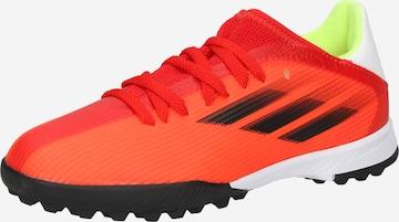 ADIDAS PERFORMANCE Spordijalats 'X Speedflow.3 TF', värv punane
