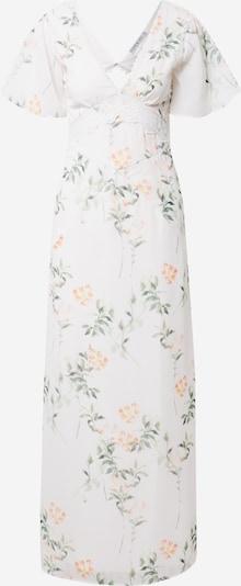 Hope & Ivy Kleid 'THE RAE' in grasgrün / orangerot / weiß, Produktansicht