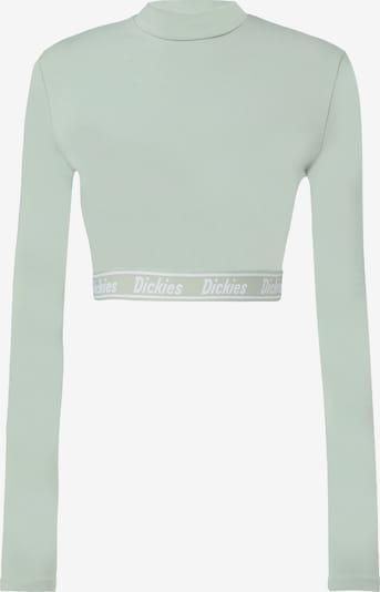 DICKIES Shirt 'PETERSBURG' in hellgrün / weiß, Produktansicht