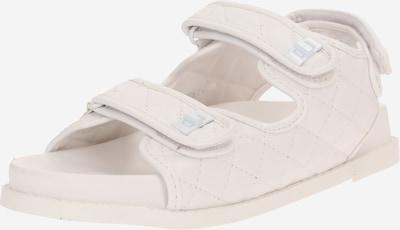 Sandale 'CARMEN' Public Desire pe alb natural, Vizualizare produs
