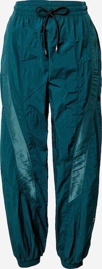 Reebok Sport Hose 'Shiny Woven' in dunkelgrün, Produktansicht