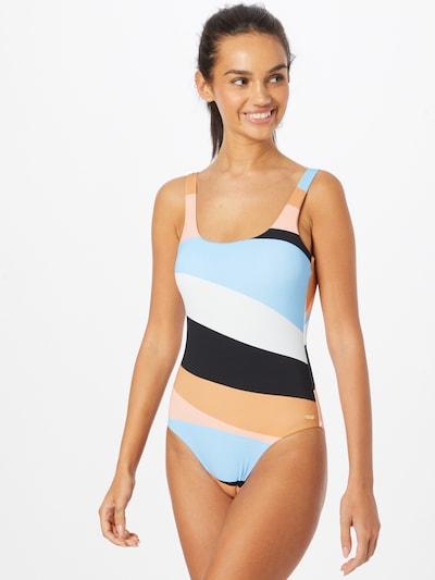 Costum de baie întreg 'PARADISO PASSPORT' ROXY pe albastru deschis / portocaliu / portocaliu piersică / alb, Vizualizare model