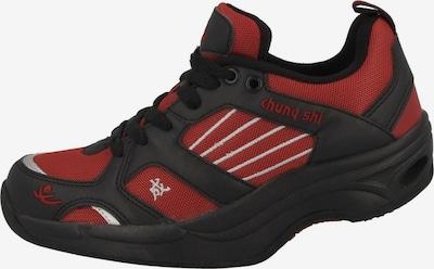 CHUNG SHI Sneaker in rot / schwarz, Produktansicht