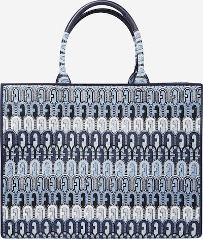 FURLA Tasche 'OPPORTUNITY' in navy / blue denim / weiß, Produktansicht