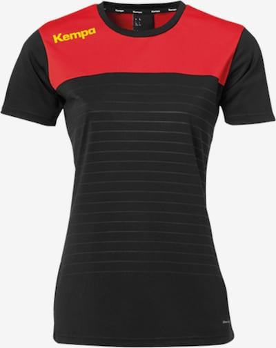 KEMPA Trikot in rot / schwarz, Produktansicht