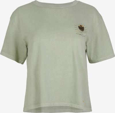 O'NEILL T-Shirt in gold / oliv / schwarz, Produktansicht