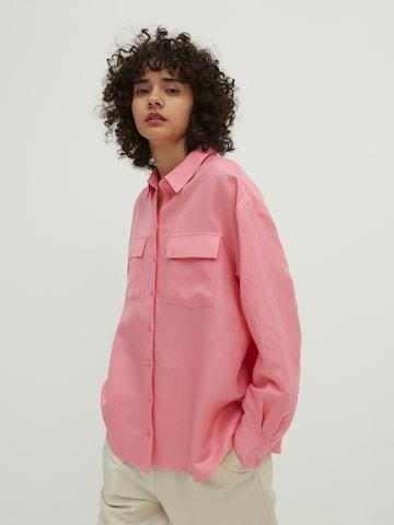EDITED Bluse 'Savanna' in Pink