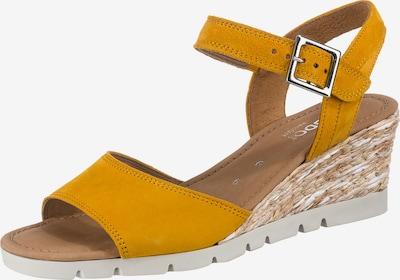GABOR Sandale in senf, Produktansicht
