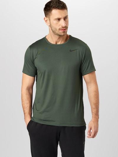 Sportiniai marškinėliai iš NIKE , spalva - alyvuogių spalva, Modelio vaizdas