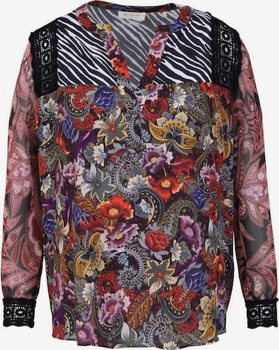 Rich & Royal Bluse in mischfarben / schwarz, Produktansicht