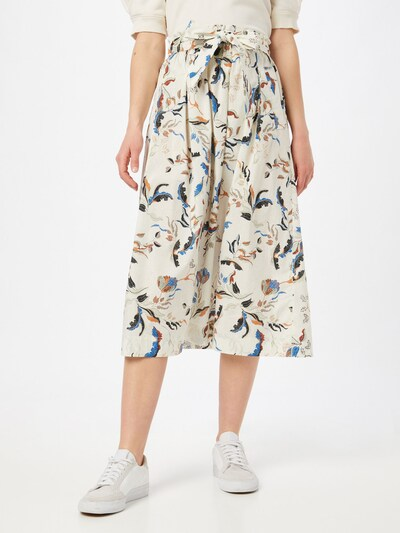 Riani Skirt in Mixed colors / White: Frontal view