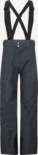 PROTEST Funkcionālas bikses 'Mowen', krāsa - tumši pelēks / melns, Preces skats