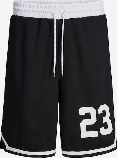 JACK & JONES Nohavice - čierna / biela, Produkt